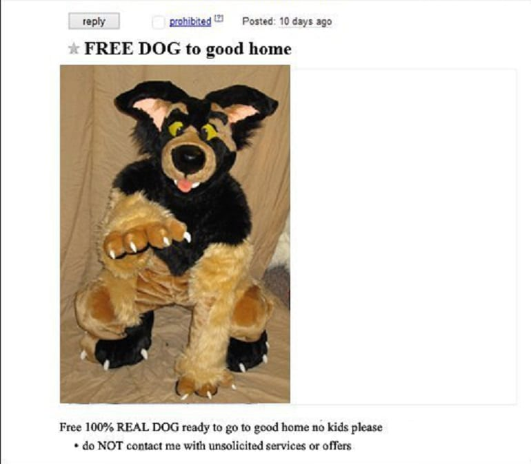 These hilarious Craigslist classified ads will make you run for the