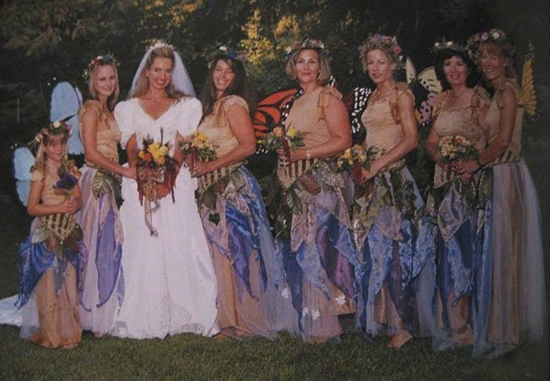The most ridiculous bridesmaids dresses ever  a4f422641