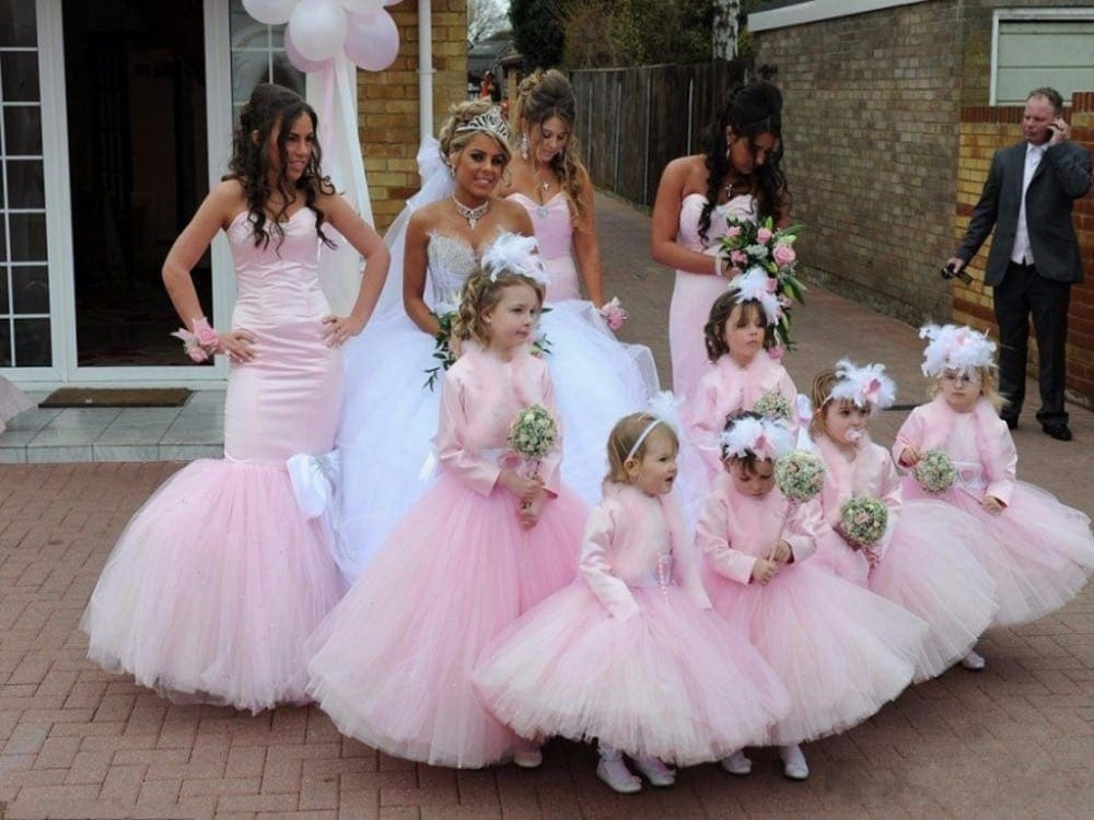17bb061d112 The most ridiculous bridesmaids dresses ever