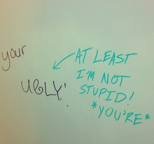 Funny notes and clever jokes left in public bathrooms ...