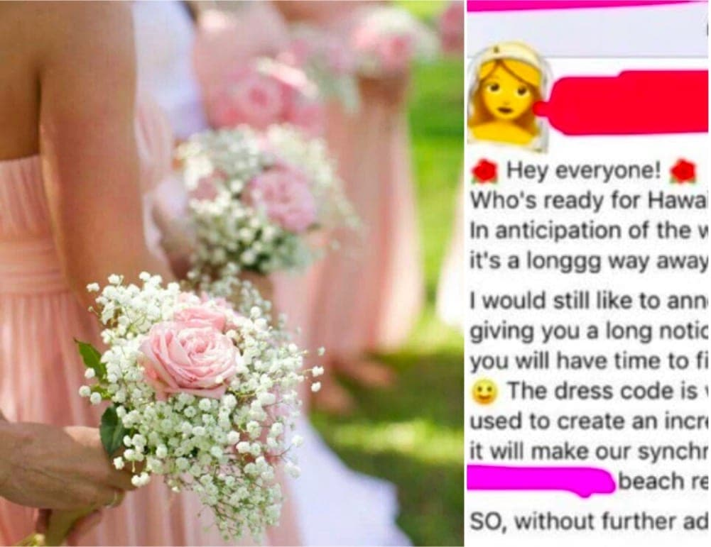 Bride,to,be finds herself in hot water after imposing a